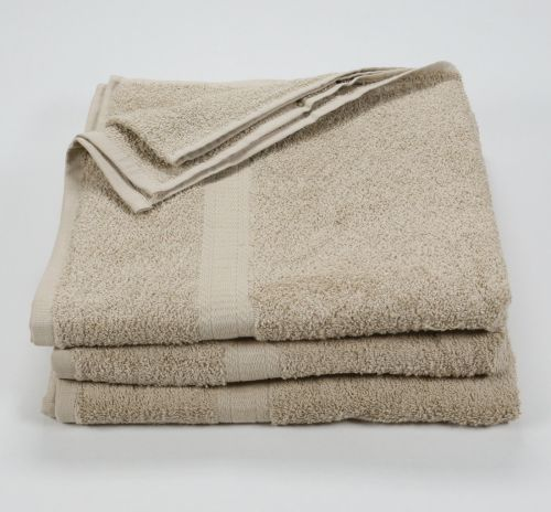 27x52 Color Towel Tan