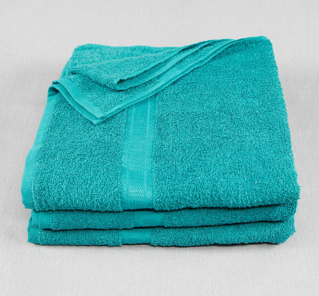 27x52 Color Towel Turquoise