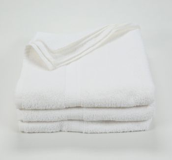 27x52 Color Towel White