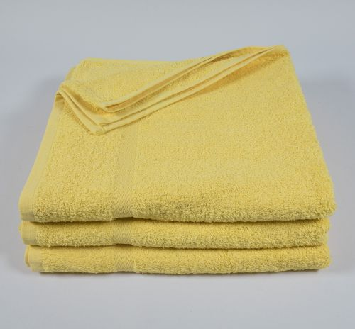 27x52 Color Towel Yellow