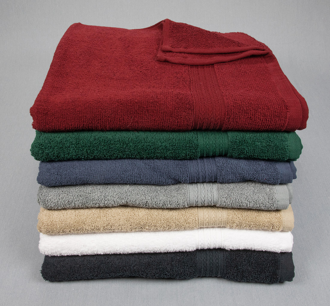 27x54 Bath Towels Colors Group