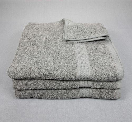 27x54 Bath Towels Grey