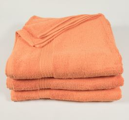 27x54 Orange Premium Bath Towels
