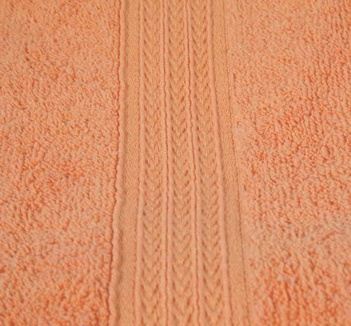 27x54 Orange Premium Bath Towels Cam