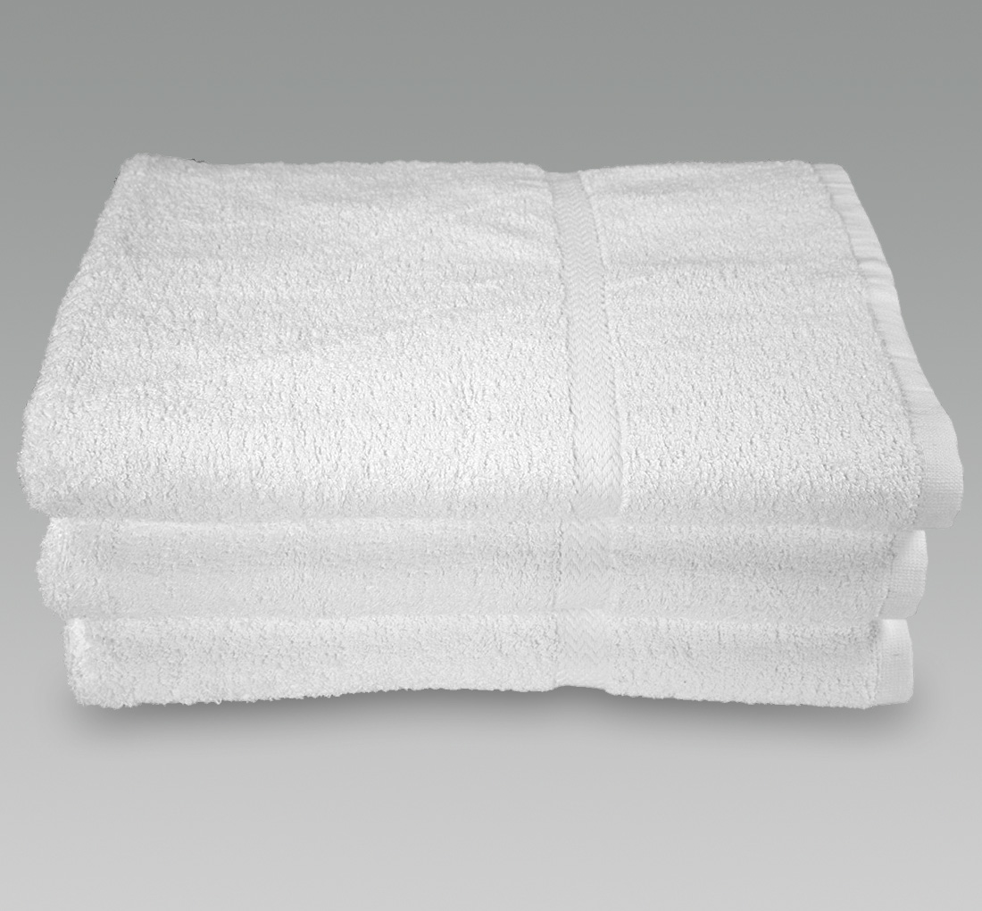 27x54 White Shower Towels