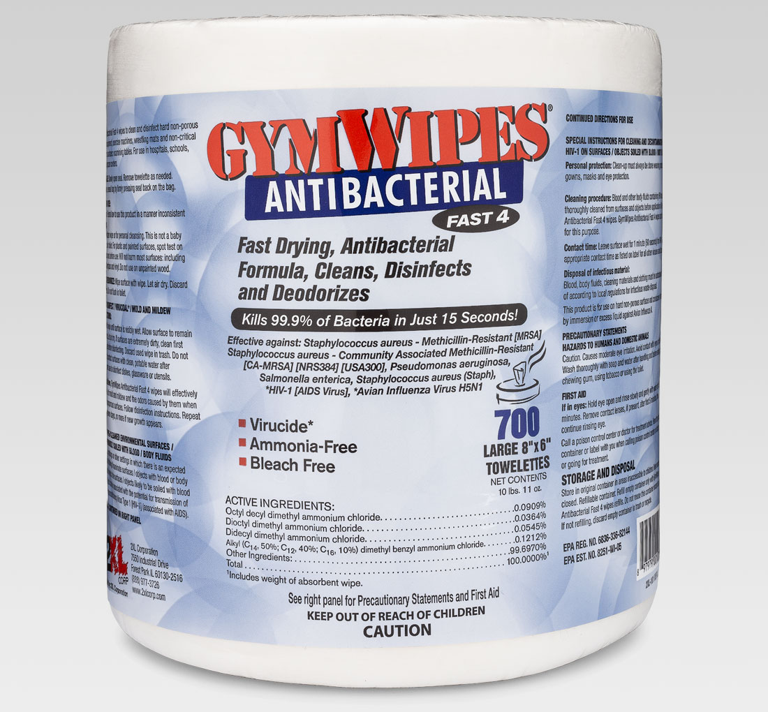2xl 101 Refill Gym Wipes