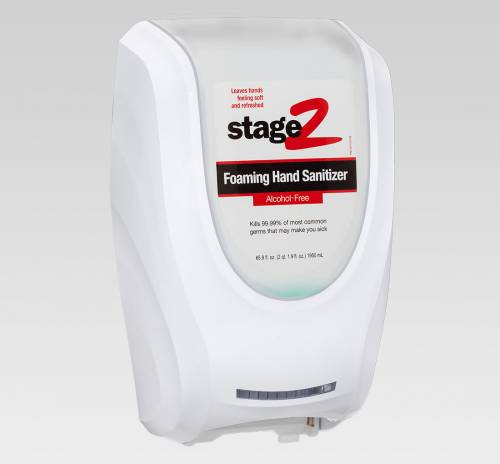 2xl 235 Hand Sanitizer Touch Free Wall Dispenser Whts2
