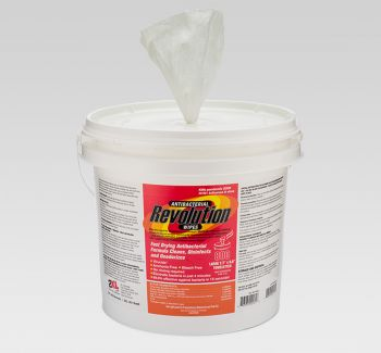 2XL-350 Revolution Antibacterial Gym Wipes 800 Ct.