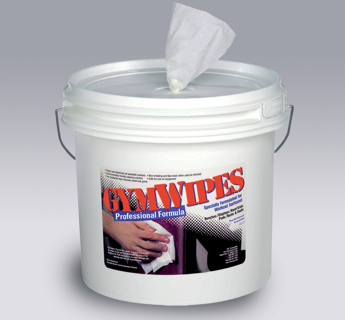 2xl 37 Gym Wipes Professional Bucket
