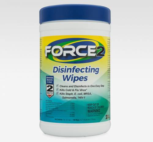 2xl Force2 Disinfecting Wipes