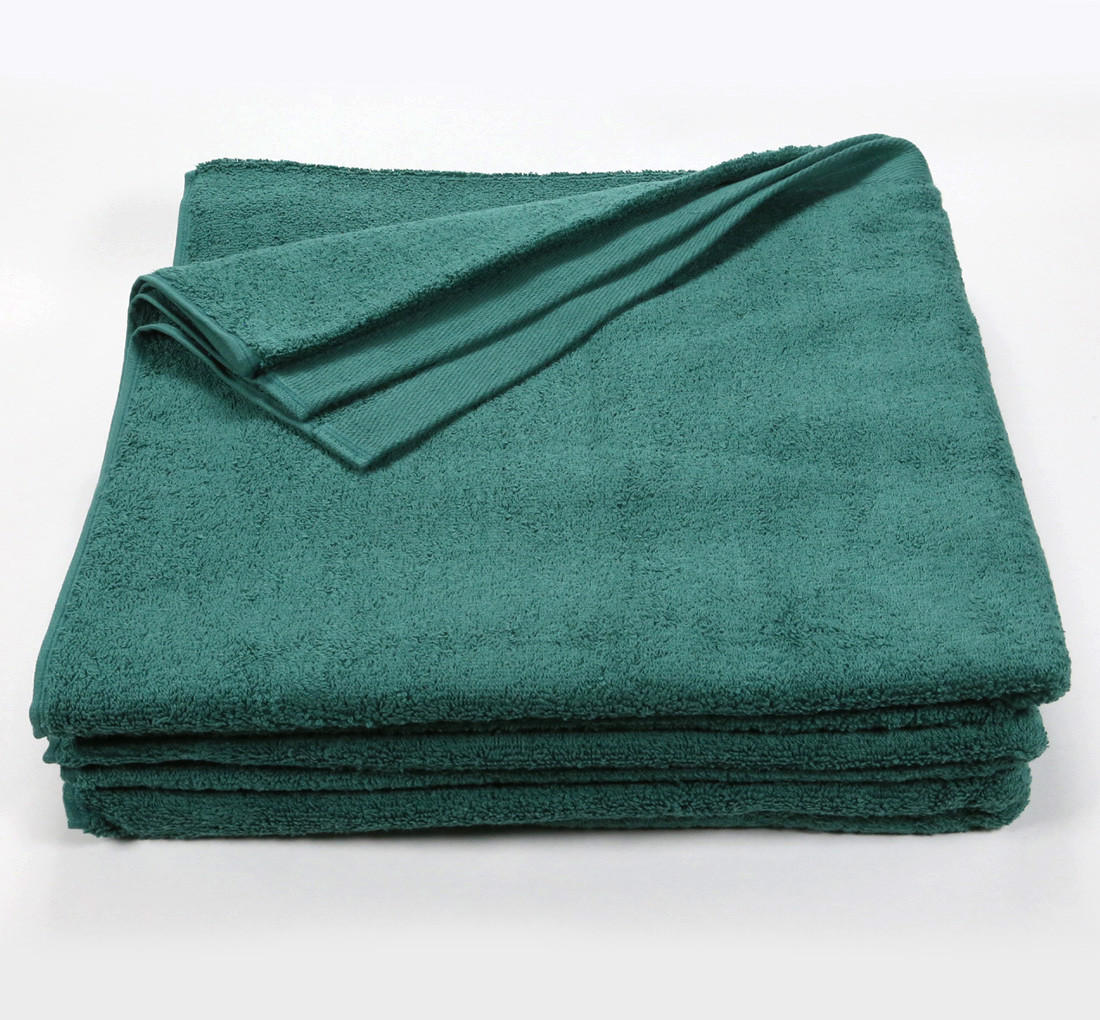 Hunter Green Bath Sheet Towel 32x66