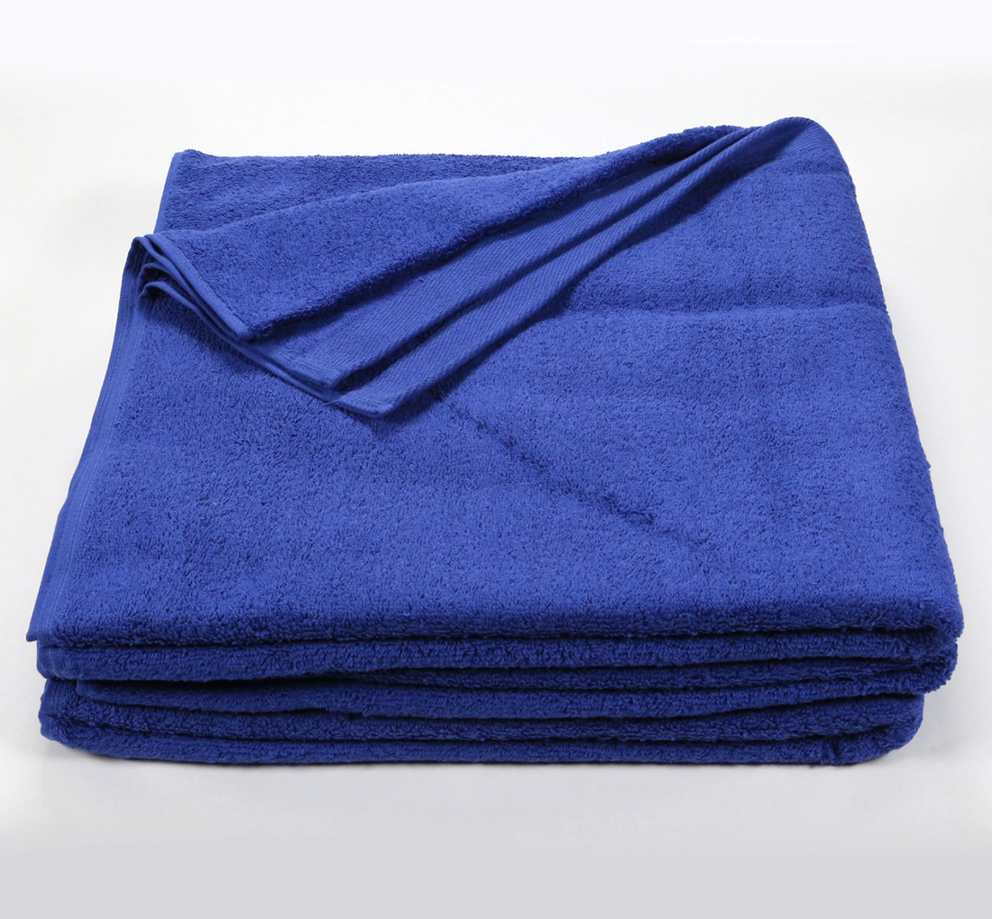 Navy Blue Bath Sheet Towel 32x66