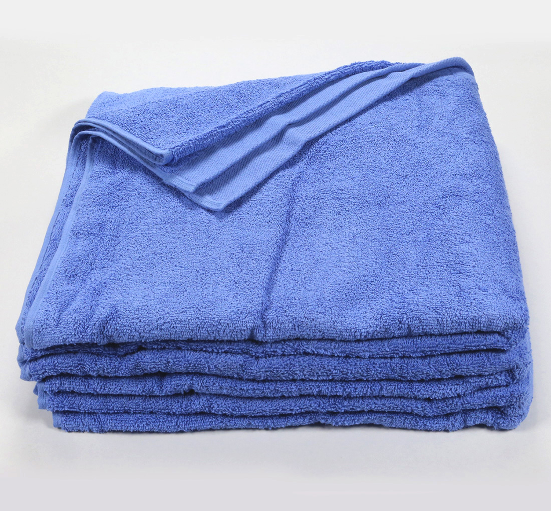Powder Blue Bath Sheet Towel 32x66