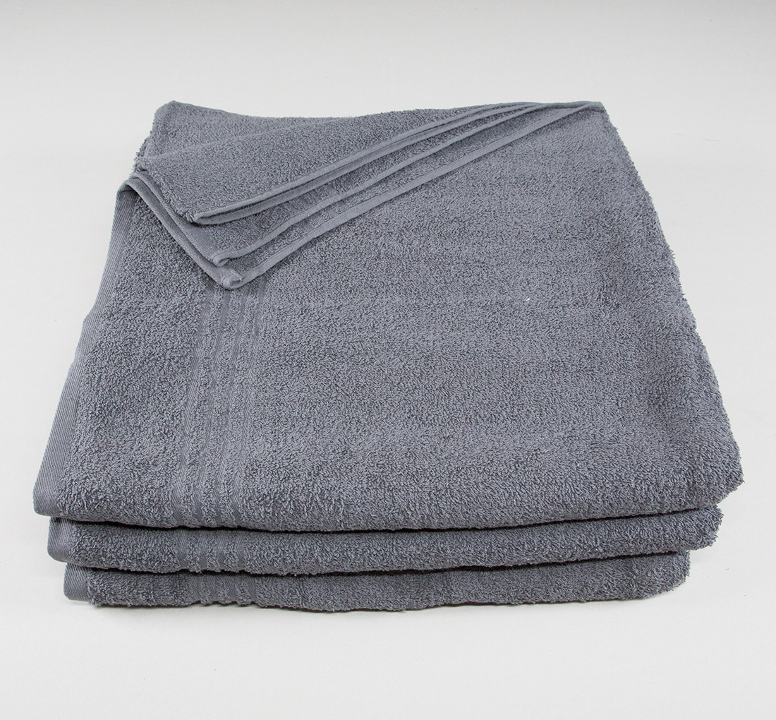 34x68 Bath Sheet Towel Dark Gray