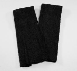 Black Football Quarterback Towel 4x12
