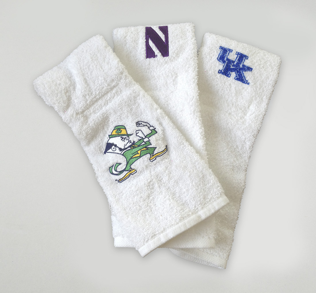 Logo Football Quarterback Towel 4x12