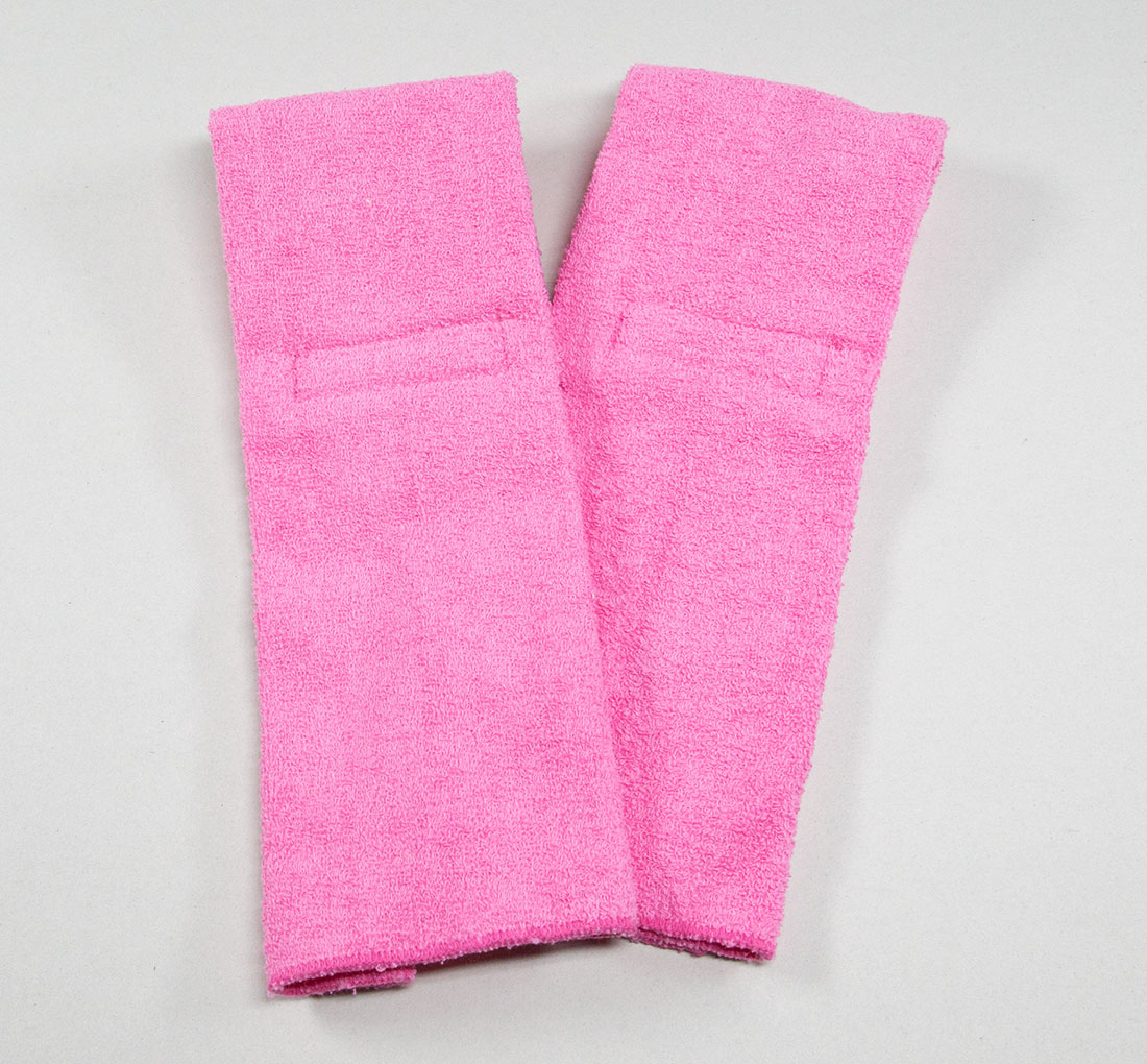 Pink Football Quarterback Towel 4x12