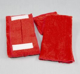 Red Football Quarterback Towel 4x12