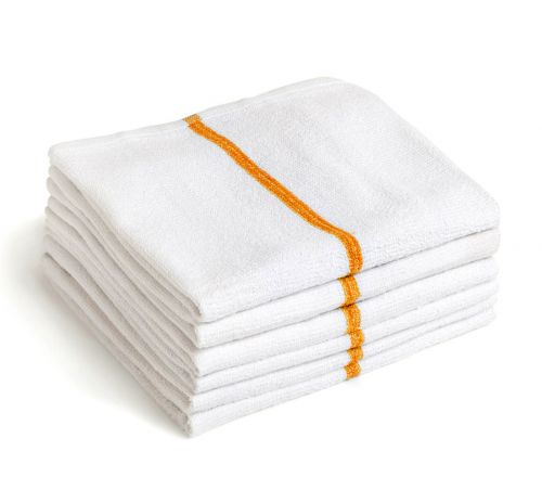 Microfiber Bar Mops 15x18 Gold Stripe