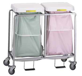 Double Leakproof Hamper Stand 684
