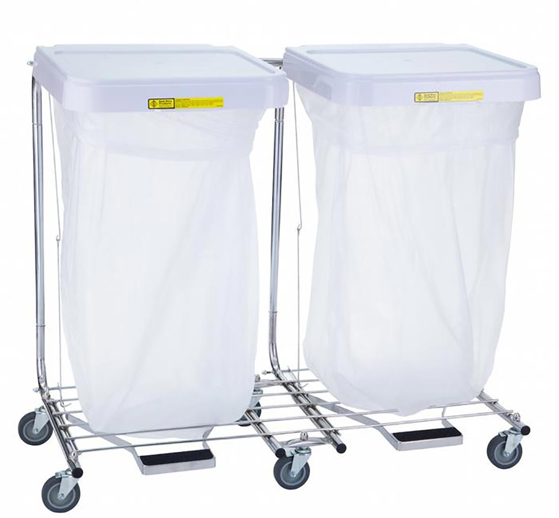 Double Medium Duty Hamper Stand 694