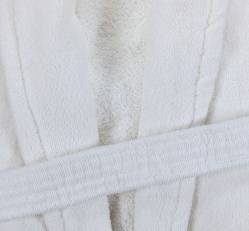 R145wht 48×60 White Bathrobe Belt