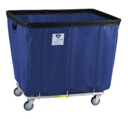 Rb Wire Navy Blue Vinyl Basket Truck