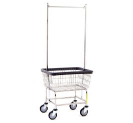 Rbwire Wire Laundry Cart Standard Double Pole Rack 100e58
